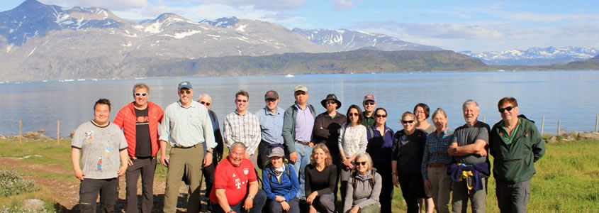 Participiants in the 2019 Arctic Futures Workshop in Greenland