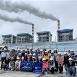 A field trip to a coal-fired power plant