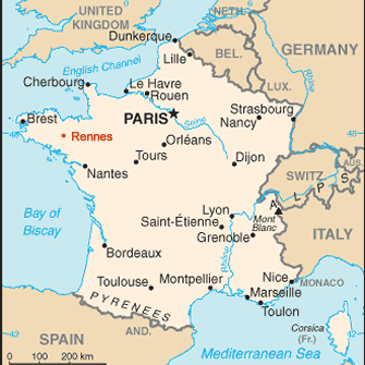 Map Of France Over Time.Maine Law And La France The Tradition Continues University Of