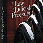 Book Cover for The Law of Judicial Precedent