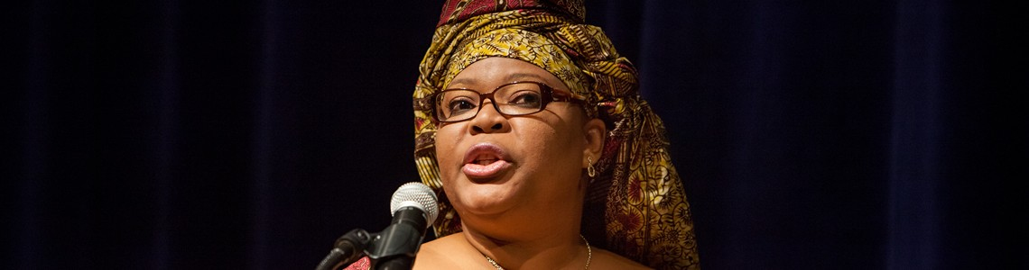 Leymah Gbowee, 2013 Justice for Women Lecturer
