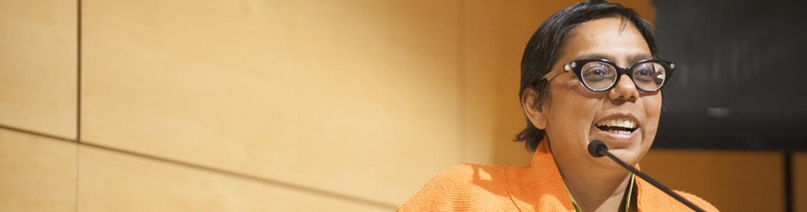 Ruchira Gupta, 2015 Justice for Women Lecturer