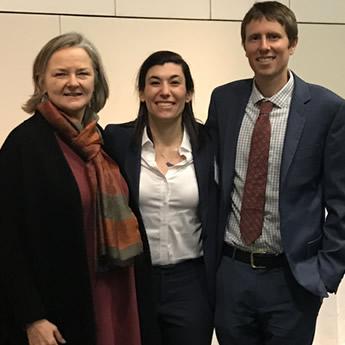 Lisa Pruitt, Hannah Wurgaft, and Mac Walton