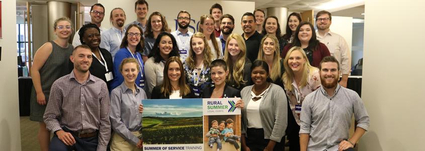 2019 Rural Summer Legal Corps Fellows