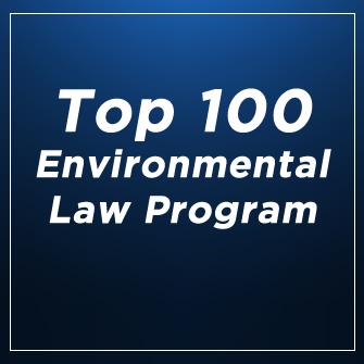 Top 100 Environmental Law Program