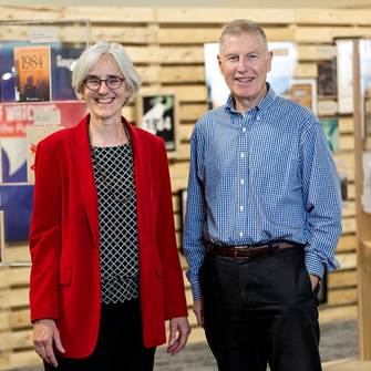 Profs. Jenny Wriggins and Peter Guffin