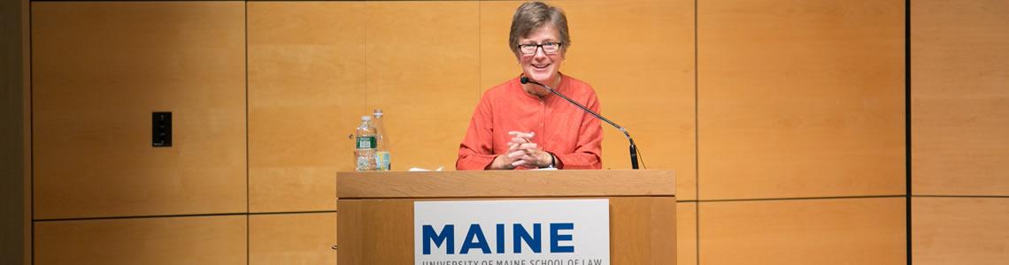 Mary Bonauto, 2015 Coffin Lecturer